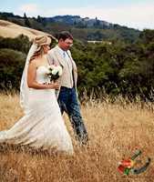 KSBW News Anchor Brittany Nielsen married Ryan Laughton in a magical looking redwood tree grove east of Watsonville last weekend!