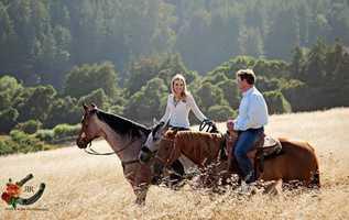 The happy newlyweds are honeymooning in Jackson Hole.