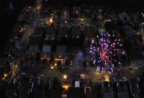 A drone flew over Salinas to show just how many illegal fireworks are set off in the Los Olivos-Riker Neighborhood. The Salinas Police Chief said he will not use the drone footage to make arrests because of concerns around invasion of privacy.