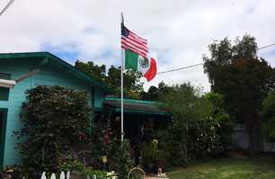 The flags were fixed and the neighborhood controversy was smoothed over.