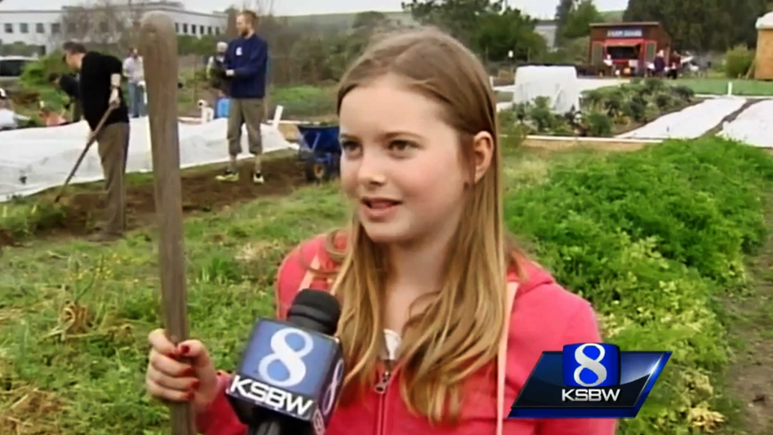 """Collette """"Coco"""" Lazenby was interviewed earlier this year by KSBW while she was volunteering at a homeless garden project in Santa Cruz."""