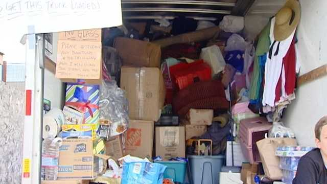 Local donations pouring in to help fire victims