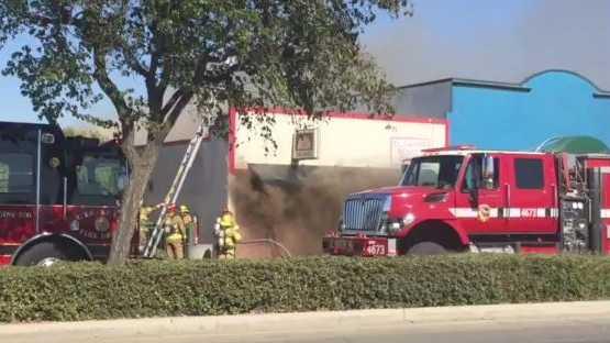 Fire in Greenfield