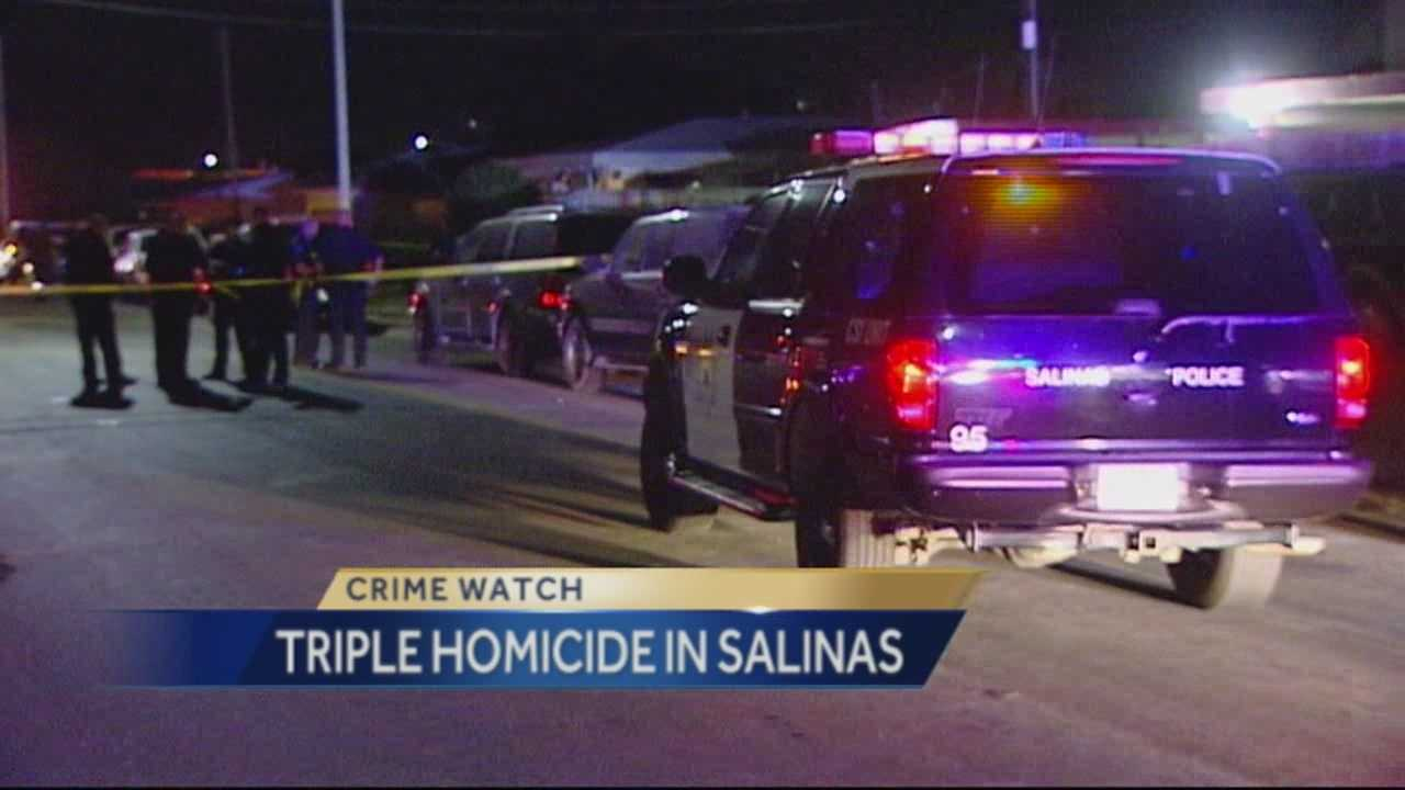 Salinas Police are investigating a triple homicide that happened Monday night.