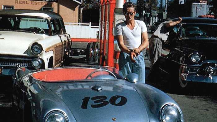 Fans complete James Dean's drive 60 years after his death