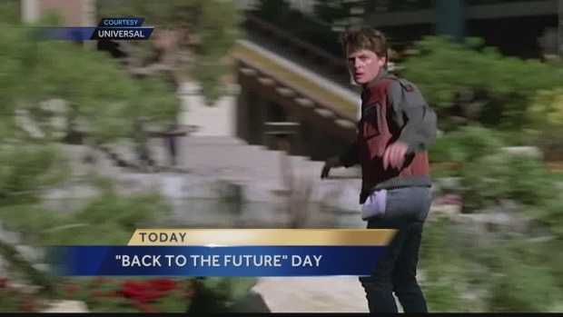 Fans celebrate Back to the Future Day