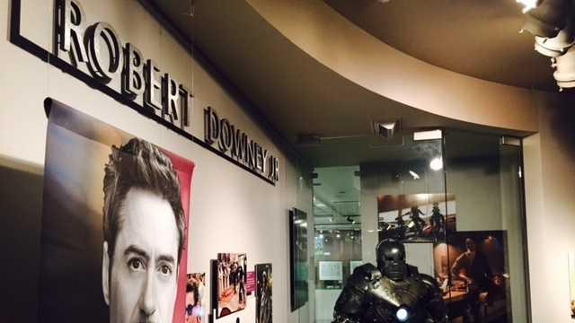 iron man, tony stark, robert downey jr, california hall of fame