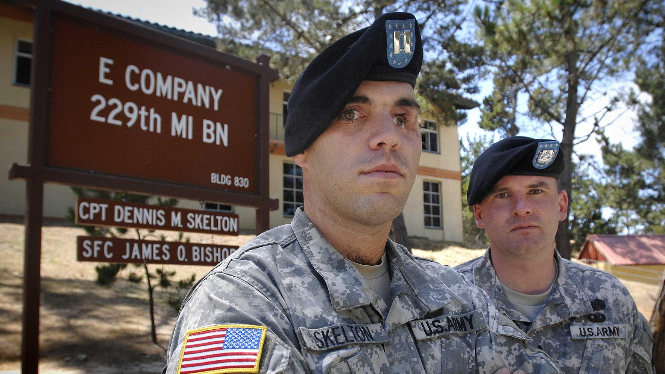 Army Captain DJ Skelton