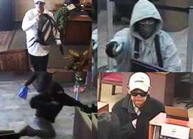 FBI agents are asking for the public's help to solve several high-profile bank robberies that happened on the Central Coast over the past year, including robberies in Felton, Greenfield, and Salinas.