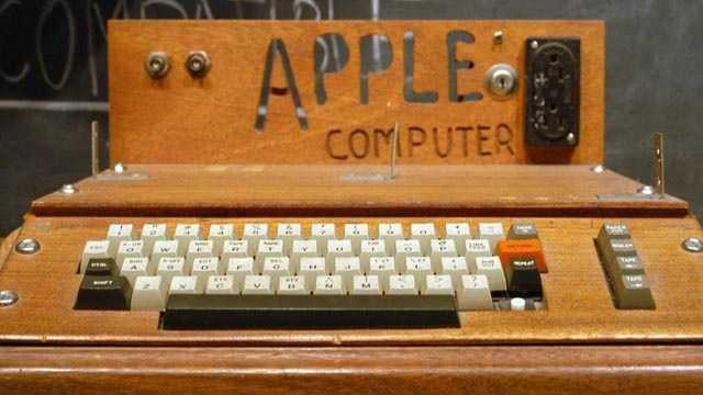 Apple products - Apple I