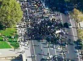 """Thousands march for """"Occupy Oakland"""" on Wednesday. (Nov. 2, 2011)"""