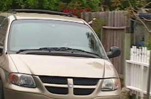 Jacob Miller first ran into trouble with the law when he arrested at the sheriff's Pacific Grove house in June 2011. He was taken into custody in this undercover sheriff's van with tinted windows.