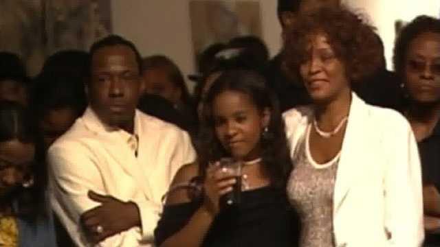 Whitney Houston, Bobby Brown, Bobbi Kristina Brown, 2005