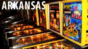 Arkansas:If you're playing a game of pinball at an arcade do not expect to be winning more than 25 free games. It is against the law for a pinball machine to give more than 25 free games unless you are playing at restaurant-game establishment such as Chuck E. Cheese. (Source: Business Insider)