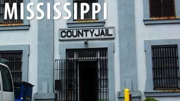 Mississippi:If you have a tendency to use colorful language, you want to be careful if you are in a public place surrounded by two or more persons. Using profanity in this instance could land you in the county jail for up to 30 days, or a fine of no more than $100. (Source: Business Insider)