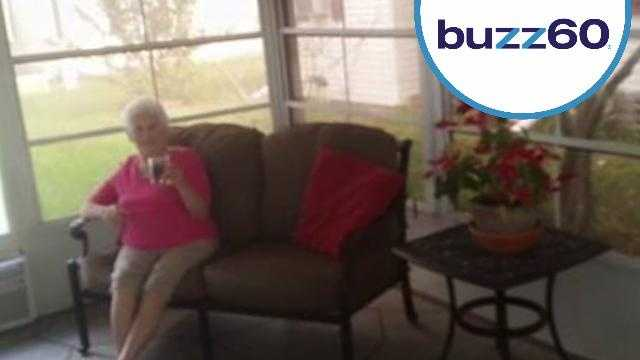 Grandmother Photobombs Real Estate Photos and Goes Viral