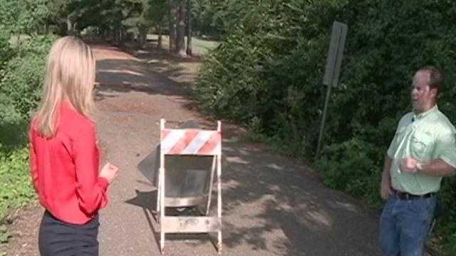 Penn Road pothole