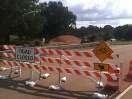 The road is expected to be open in late October or early November.