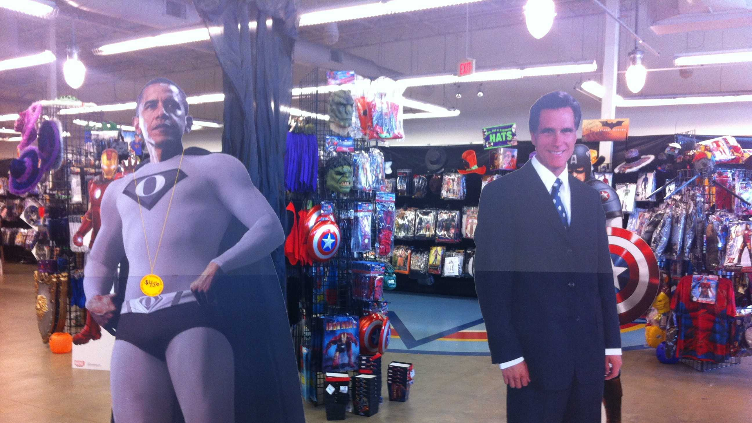 Obama and Biden costumes