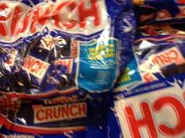 7. Nestle Crunch