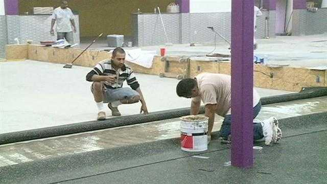 Planet Fitness construction
