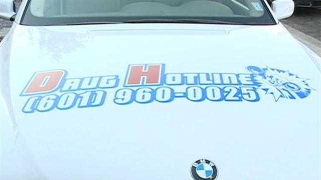 Drug car converted for drug enforcement