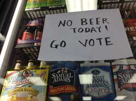 Municipalities in Mississippi are allowed to restrict beer sales on Election Day if they see fit.
