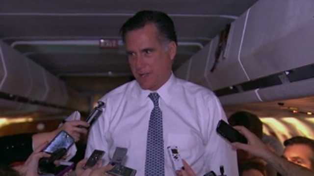 Mit Romney election night