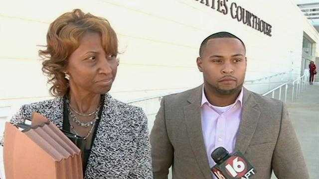 Attorney Lisa Ross and Anthony Payne