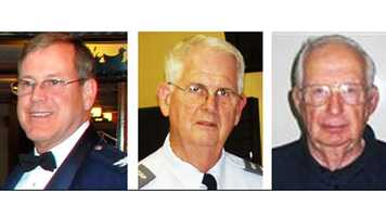 Col. John E. Tilton Jr., Lt. Col. David Williams and Capt. William C. Young, were killed in the crash.