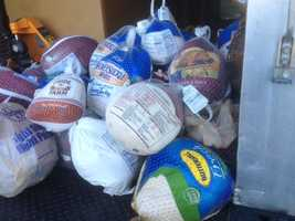In 2012, within the first three hours of Turkey Drive 16, at least 30 people had donated more than 50 turkeys.