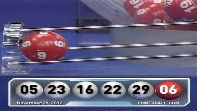 Numbers drawn in $550 million Powerball jackpot