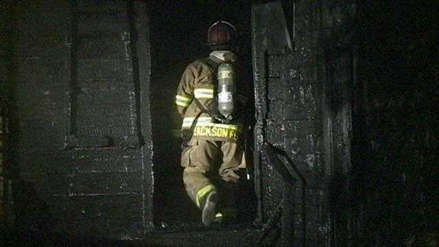 A Jackson homeowner escaped an early morning house fire without injuries.