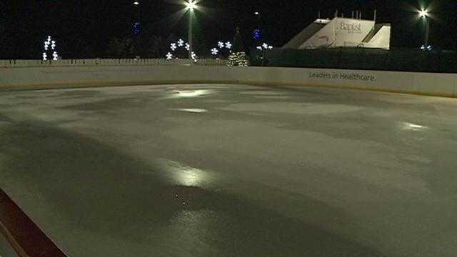 Christmas on Ice closed