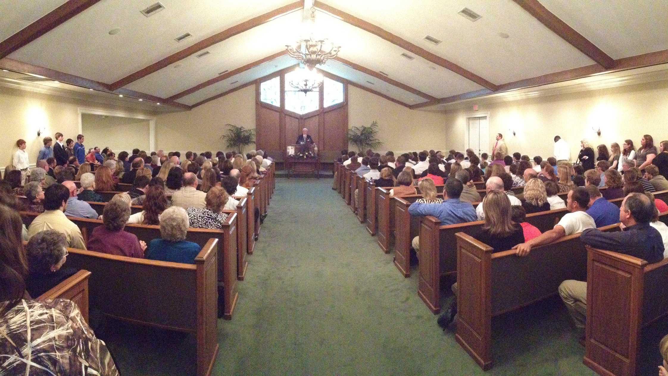 Lampkin memorial service 2