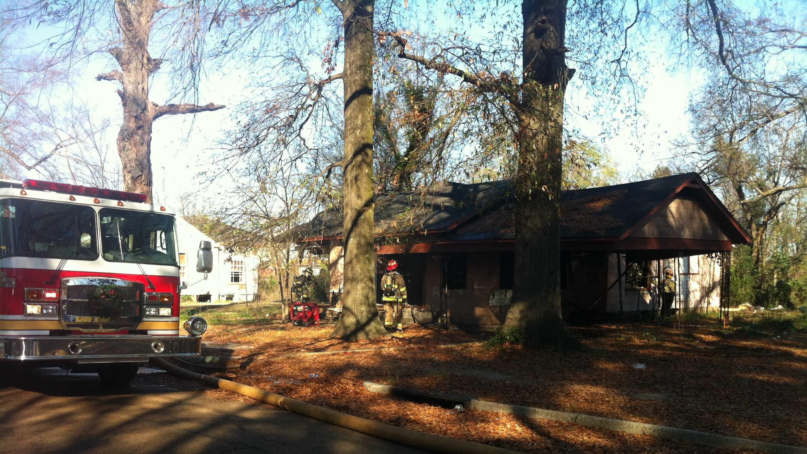 Evergreen Avenue fire