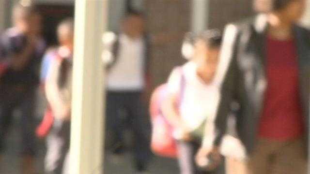 School shooting's impact on children