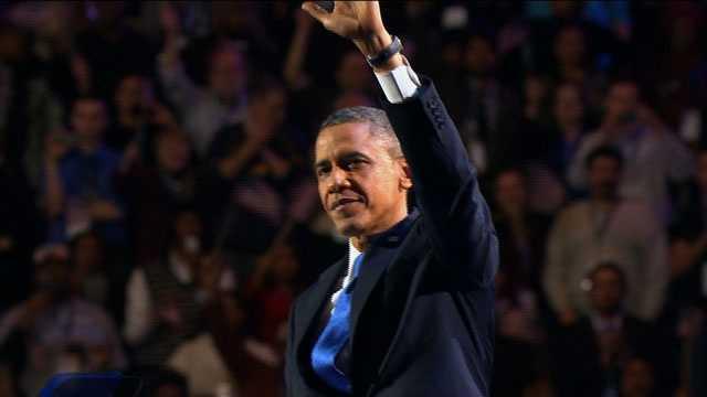 Obama wins re-election 2
