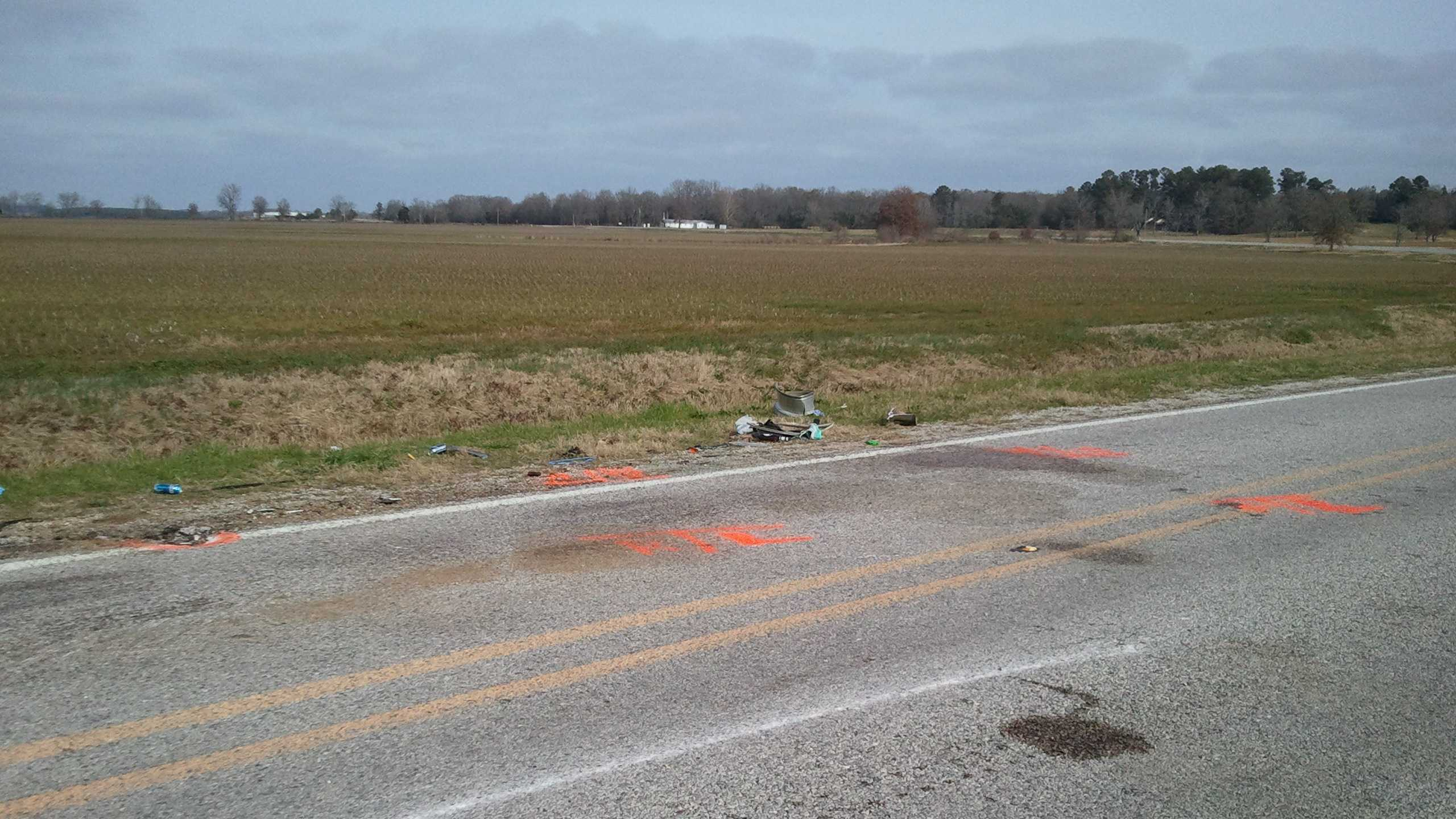 Fatal crash in Madison County