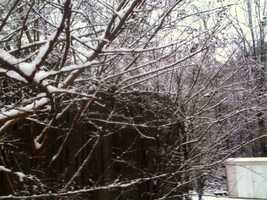 Snow in Clinton.