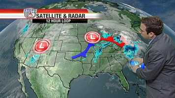 A Cold front is moving in.