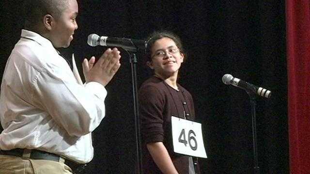 Spelling Bee winners