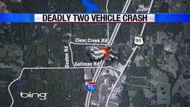 Fatal crash map