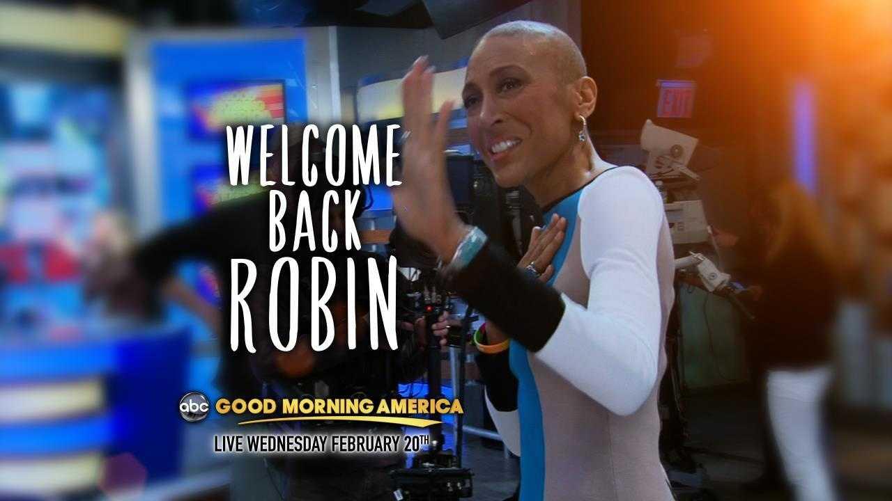 Welcome back Robin Roberts gfx
