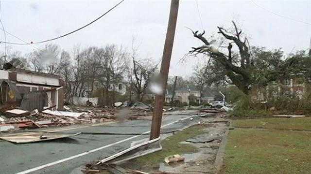 Hattiesburg damage