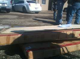 The Hinds County Sheriff's Department tracked a package from Texas to Jackson.