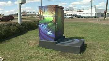 The city of Jackson unveils round two of the Traffic Box Art Project focusing on Highway 80.