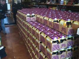 Hops and Habanas in Madison got its shipment of Abita Strawberry on Monday.