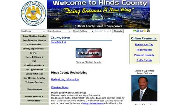 Hinds County website