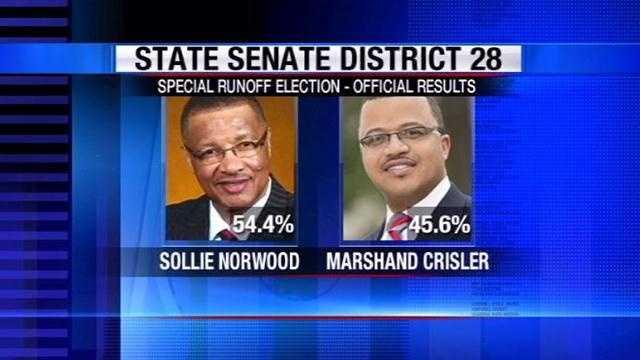 Norwood crisler senate race